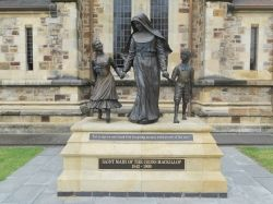 Statue of Mary McKillop in Adelaide