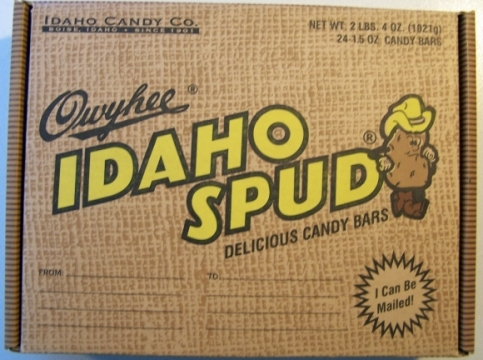 Idaho Spud Bars -- oldest candy bar made in Idaho!