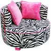 Zebra Print Chairs for Kids