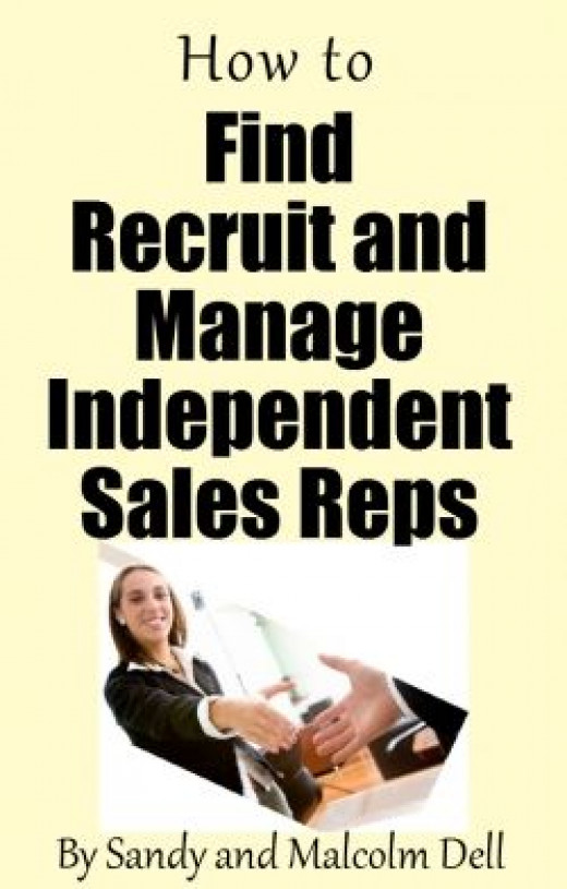 how to find recruit and manage independent sales reps