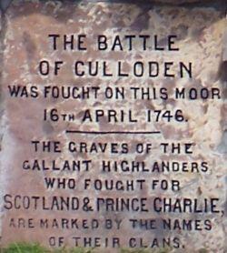 Cairn at Culloden
