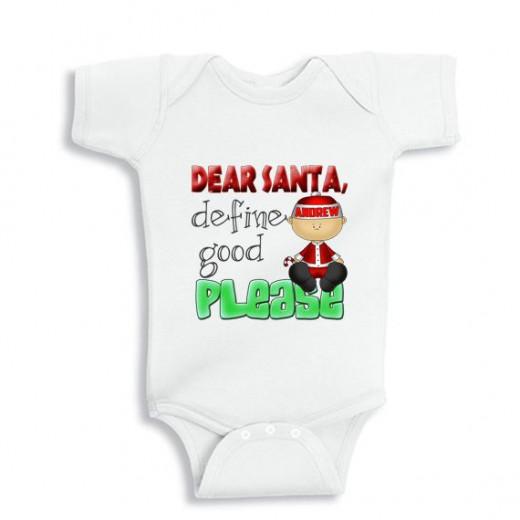 Dear Santa define good please