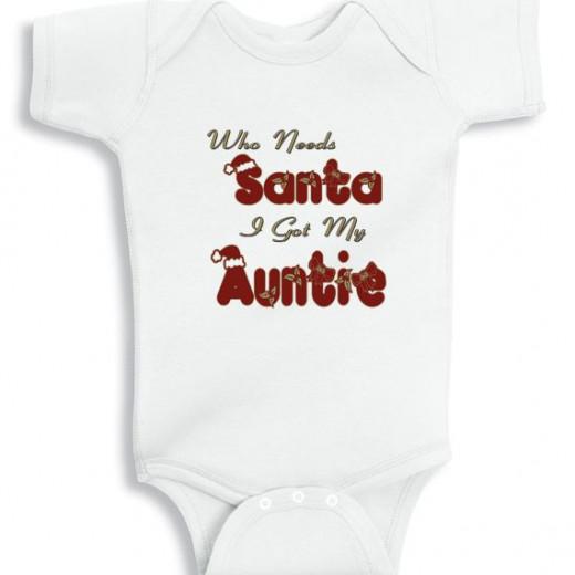 Who needs santa I got my Auntie