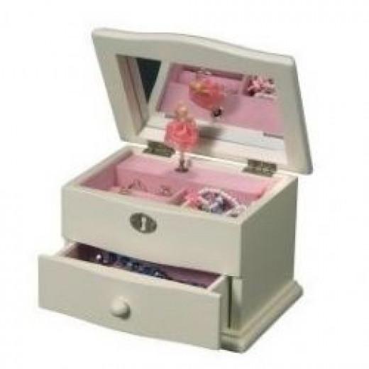 ballerina jewel box for girls