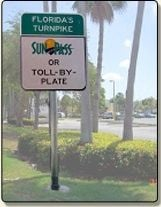 toll by plate in Miami