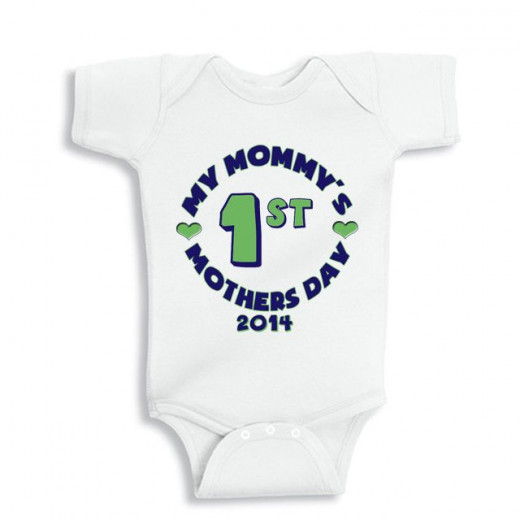 My Mommy's 1st Mother's day baby shirt
