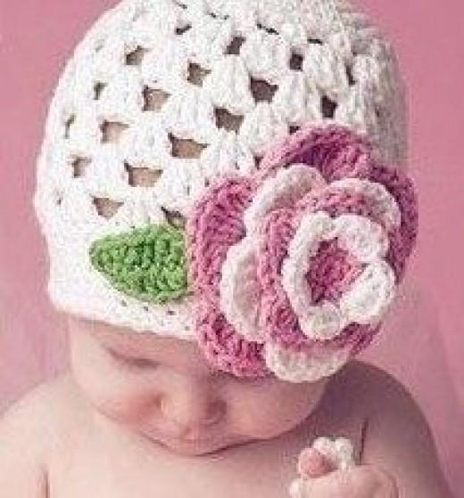 Riley Crochet Baby Hat