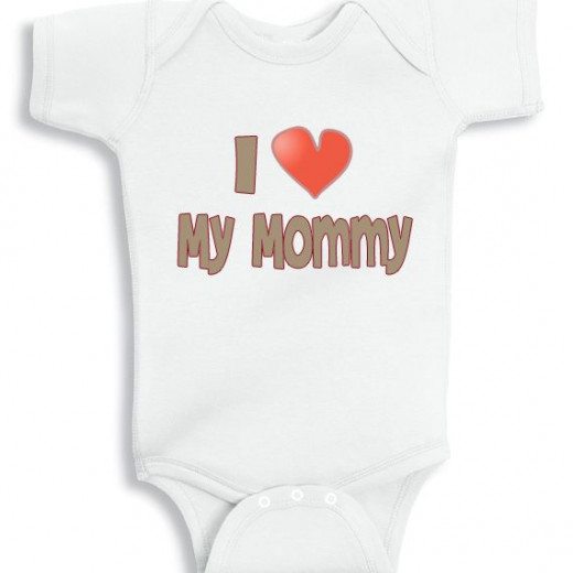 I love my mommy from NanyCrafts.com