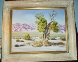 Find lost of great art at antiques auctions.