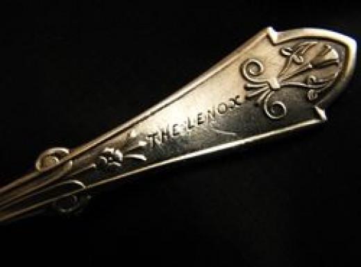 The Lenox Hotel Silver Spoon c.1871