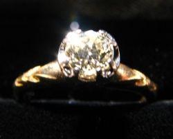 1800's diamone ring