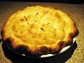 Homemade Cheddar Apple Pie