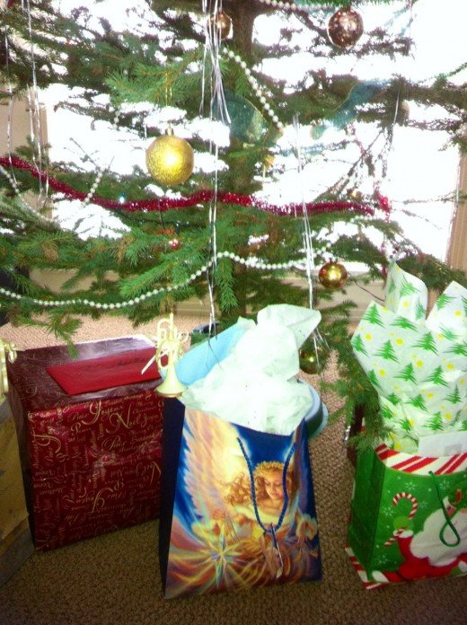 Gifts Under The Tree ~ Which one is the Coffee Maker?