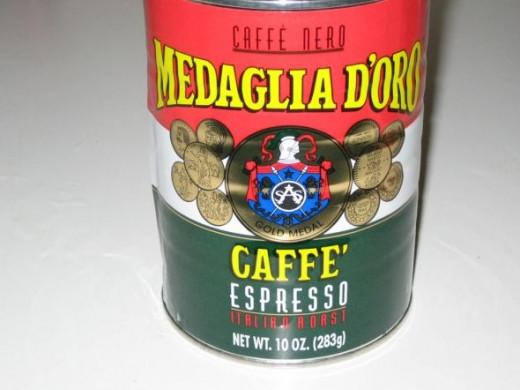Medaglio D'Oro - Cafe Espresso Italian Roast