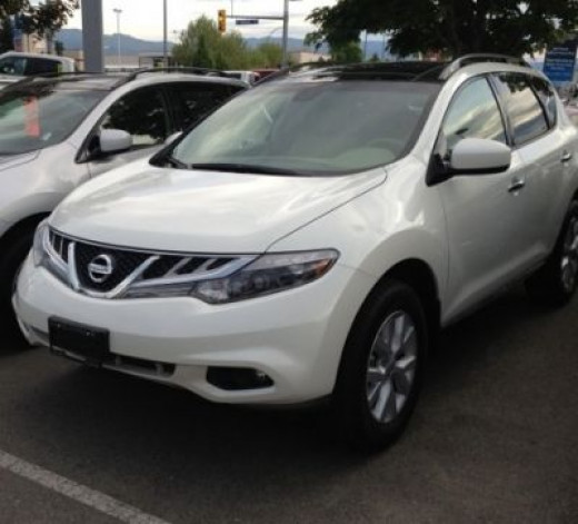 At Last and Nearly a Year Later ~ Our New Baby ~ 2013 Nissan Murano SL AWD
