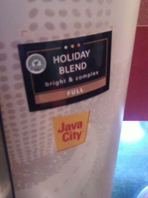 Java City - Holiday Blend