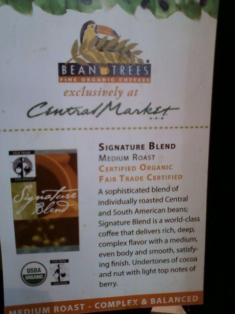 Central Market's Cafe - Signature Blend Medium Roast