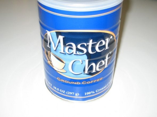 Master Chef - Ground Coffee ($1.88 a Can)