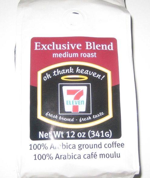 7-11's Exclusive Blend Medium Roast.