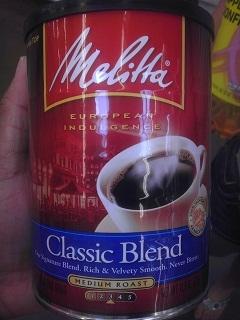 Melitta Classic Blend Medium Roast