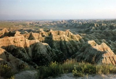 Badlands National Park in South Dakota (see the Northern Route lens)