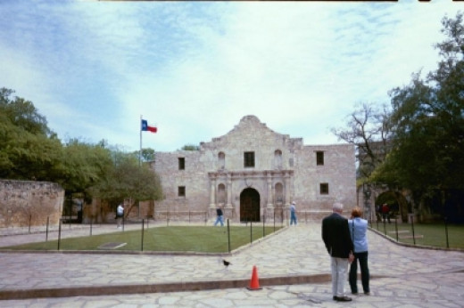 The Alamo, one of the things you can see on I-10