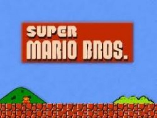Mario Bros retro nintendo game