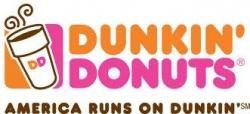 Dunkin' Donuts logo - America Runs on Dunkin
