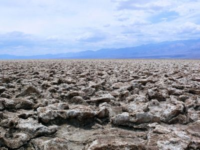Mars? No, it's the Devils Golf Course of Death Valley