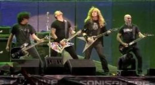 Big Four concert - Metallica, Slayer, Megadeth, Anthrax