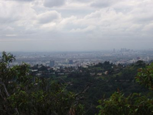 The Massive Urban Sprawl of Los Angeles