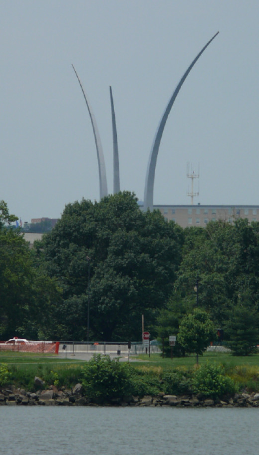 U.S. Air Force Memorial, Arlington