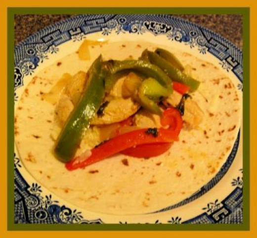 Delicious! It's all done, put in a tortilla, add some cheese and veggies, and enjoy!