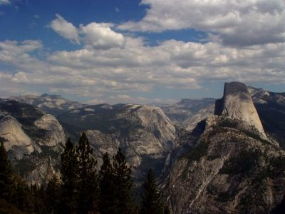 Another Grand View of Yosemite...Half Dome on the Right