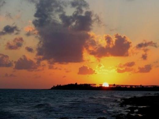 Bahia Honda Key near Key West, Sunset