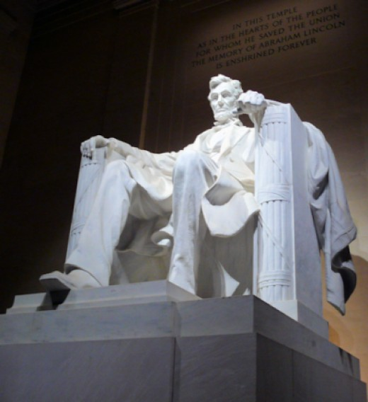 The Lincoln Memorial Inside