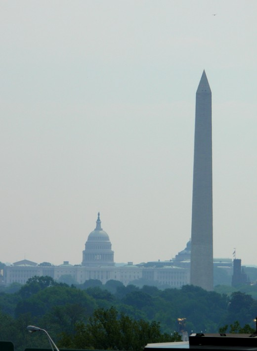 Washington Monument and Capitol Building