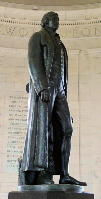 Thomas Jefferson statue, Jefferson Memorial