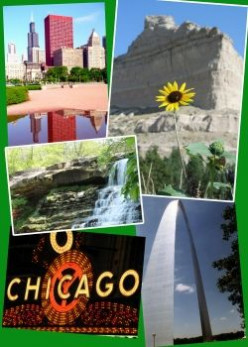Midwestern Road Trip Route: America's Heartland