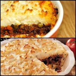 Cottage pie and Shepherd's pie