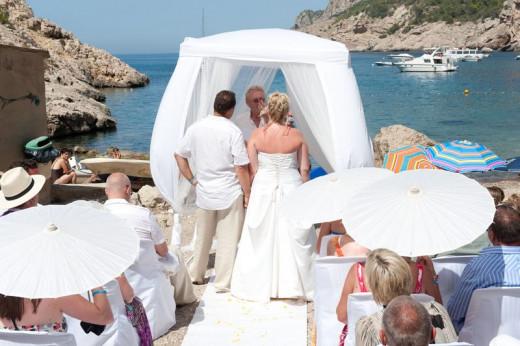 Ibiza Wedding on San Miguel beach