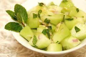Chili-Minted Cucumbers