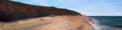 Nauset Light Beach - original painting by Bill Revill