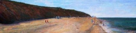 Nauset Light Beach - original painting by Bill Revill
