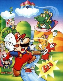 Promotional artwork for Super Mario 2.