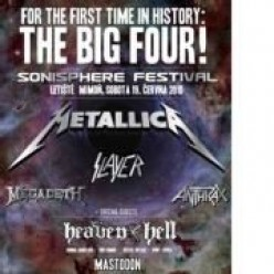 Big Four Tour - Thrash Metal Bands Metallica, Megadeth, Slayer and Anthrax