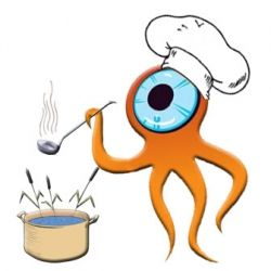Chef Squid prepares another favorite dish