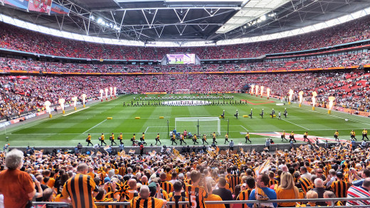 Wembley stadium 2014 F.A. Cup final
