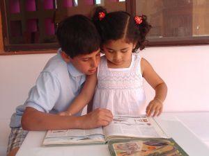 homeschooling girl