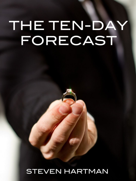 "DUSTIN WISSMILLER'S COVER OF ""THE TEN-DAY FORECAST"""